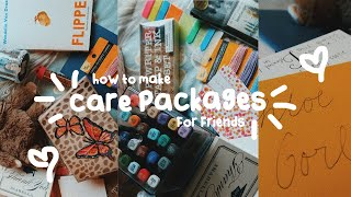 How To Make Care Packages For Friends! DIY Care Package Gift Ideas (Easy & Creative)