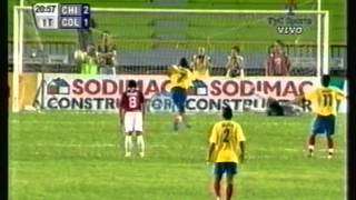 2005 (January 25) Colombia 4 -Chile 3 (Under 20 World Cup Qualfiier)