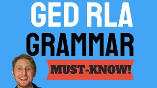 Must Know GED Grammar Lessons To Boost Your GED Language Arts Score
