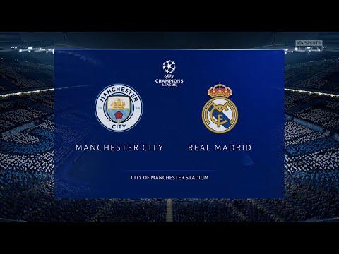 ⚽ Manchester City vs Real Madrid ⚽ | UEFA Champions League (07/08/2020) | Fifa 20