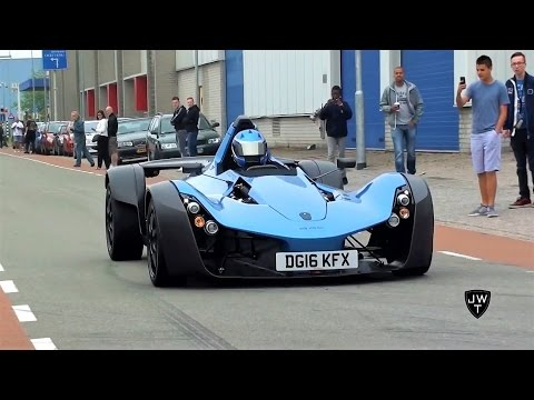 INSANE BAC Mono At Cars & Coffee! Start-Up, FAST Acceleration & More Sounds!