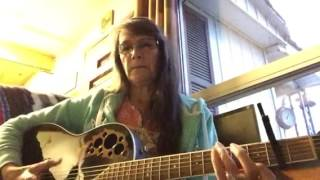 Sandra Glabb It only hurts for a little while/Country cover song