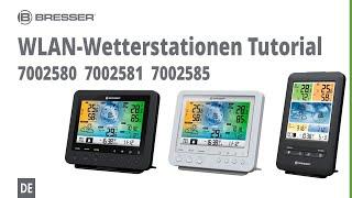 BRESSER Erklärvideo für WLAN-Wetterstationen - 5-in-1 Farbwettercenter: 7002580, 7002581, 7002585