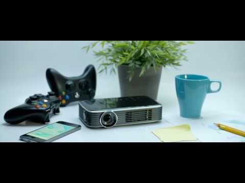 vivitek Qumi Q8 bianco (Full HD, 1000lm, WiFi, LED, 34dB)
