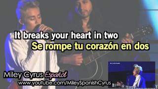 Miley Cyrus - It's Over ( Traducida Subtitulada Español + Lyrics )