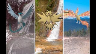 Articuno  - (Pokémon) - Zapdos, Articuno & Moltres IN REAL LIFE - The World Of Pokémon