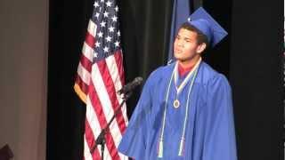 PALCS Graduation 2012: Richie Mitchell  - Tell My Father