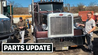 New Leaf Springs And Parts Update On The Cheap Peterbilt