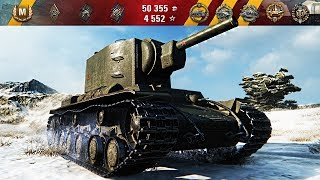 КВ-2 на фугасах ВНИЗУ СПИСКА 🌟🌟🌟 World of Tanks лучший бой танк КВ-2