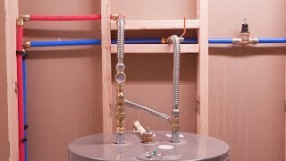 How To Install a Water Heater with SharkBite