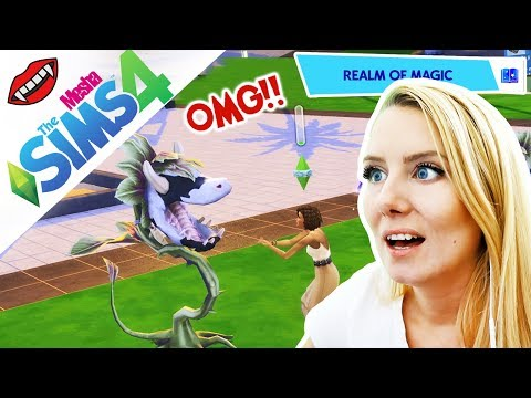 NOVÝ MAZLÍČEK - KONEČNĚ KRAVÍ ROSTLINA! ● The Sims 4 - UPÍŘÍ DENÍKY 40