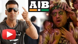 Akshay Kumar Upset With Irrfan Khan  AIB Spoof