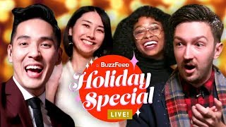 BuzzFeed's Holiday Special Feat. Tasty, Unsolved, As/Is, Pero Like And More • LIVE