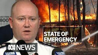 NSW state of emergency declared ahead of 'most dangerous bushfire week ever seen'   ABC News