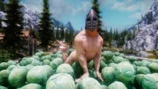Let's Play SKYRIM! i heard it's gay (Lick Attack) *this is 5yrs old! sry evry1*