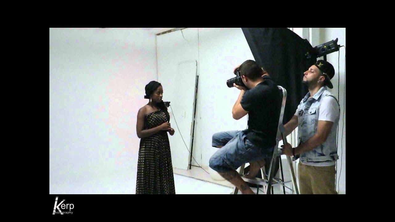 Studio shoot with Biselé