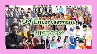 SM엔터테인먼트의 역사 (설립부터 NCT 까지)