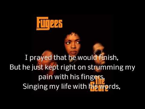 The Fugges -  Killing Me Softly  -  Lyrics