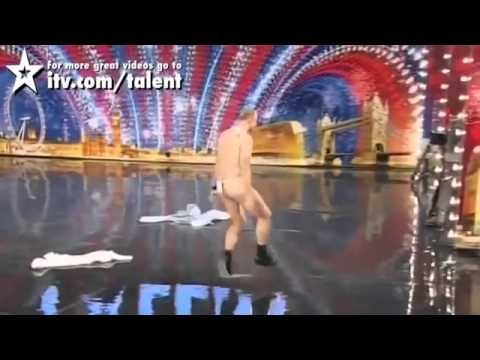 NAKED AND FUNNY AUDITIONS FROM GOT TALENT WORLDWIDE (видео)