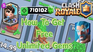 "How to Get FREE Gems FAST in Clash Royale ""No Hacks"" (March 2017) - HUGE GIVEAWAY?"