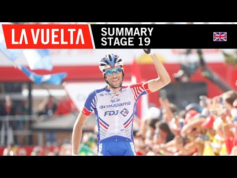 Video | Samenvatting etappe 19 Vuelta a Espana