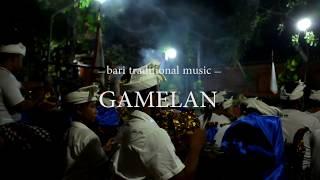 インドネシア・バリ島のガムラン演奏