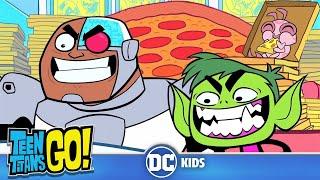 Teen Titans Go!   Free Pizza   DC Kids