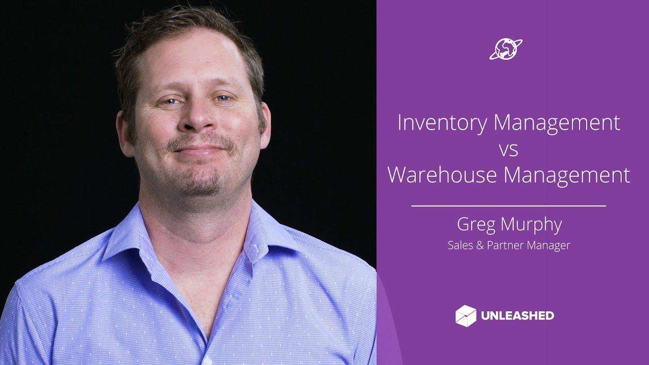 Inventory Management vs Warehouse Management YouTube thumbnail image