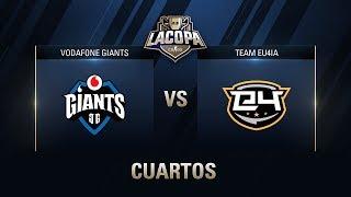 VODAFONE GIANTS VS TEAM EU4IA - CUARTOS DE FINAL - MAPA 1  - #CopaCSGOCuartos