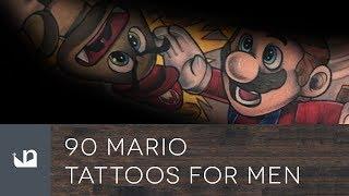 90 Mario Tattoos For Men