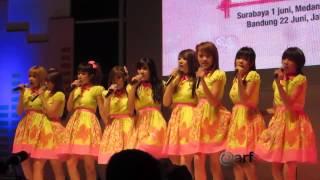 Cherrybelle Best Friend Forever Gandaria City [30.06.2013]