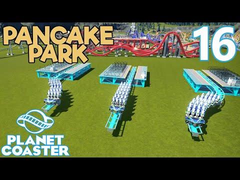 Planet Coaster PANCAKE PARK - Part 16 - CRAZY IDEA