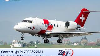 Take Air Ambulance in Silchar and Lucknow by King Ambulance