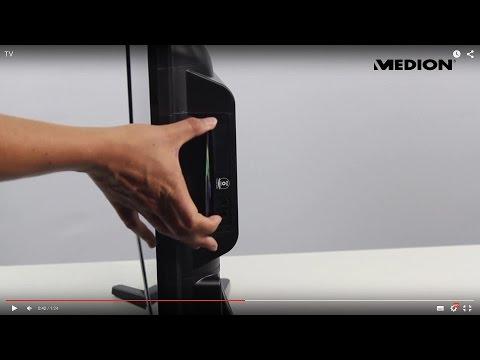 "MEDION® LIFE® 31,5"" SMART TV incl. DVD-speler"