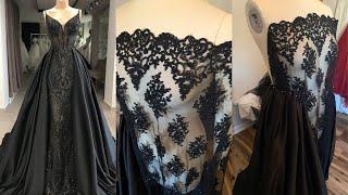Let's Design A Black Wedding Dress