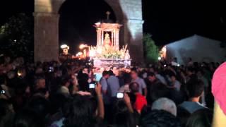 preview picture of video 'Aparicion de nuestra  Virgen de la Cabeza (Andujar 2012).'