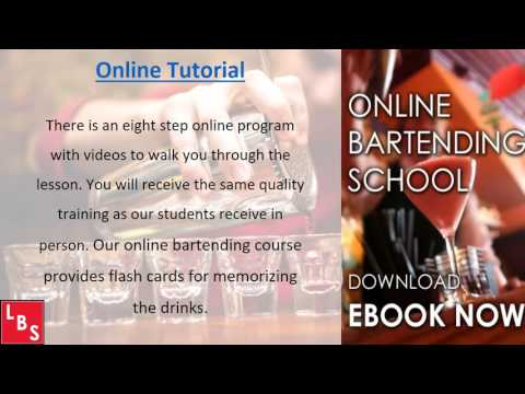 Online Bartending Course   Bartending School - YouTube