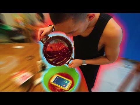 PRANK Sembunyiin HP di Dalam Makanan selama 24 JAM | Part 1