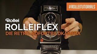 #Rolleitutorial: Die neue Sofortbildkamera Rolleiflex - ein Must-have für Retro-Fans