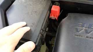 Chevrolet Traverse Battery Location