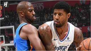 Oklahoma City Thunder vs Los Angeles Clippers - Full Game Highlights | November 18, 2019 NBA Season