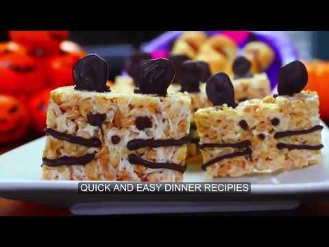 QUICK AND EASY 3 VEGAN HALLOWEEN TREAT DINNER RECIPIES