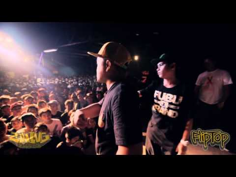 FlipTop - M Zhayt/Shernan vs Thike/G-Clown