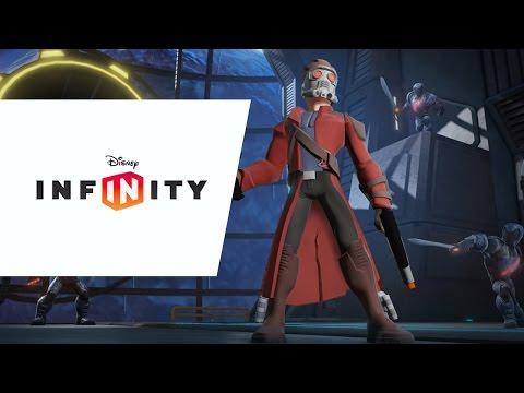 Видео № 0 из игры Disney Infinity 2.0 (Marvel) Набор 2+1: Cтражи Галактики (Звёздный лорд, Гамора, локация