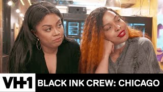 Charmaine Gets Ryan To Spill The Details About Him & Kat | Black Ink Crew: Chicago
