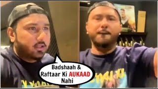 Honey Singh Insults Badshaah U0026 Raftaar In His Live Video