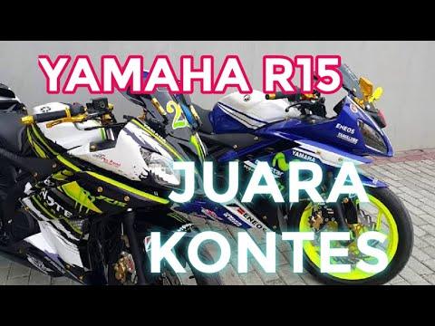 Video R15 modifikasi