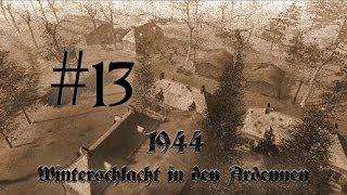 Let´s Play 1944 - Winterschlacht in den Ardennen #13 Losheimergraben HD Bayrisch