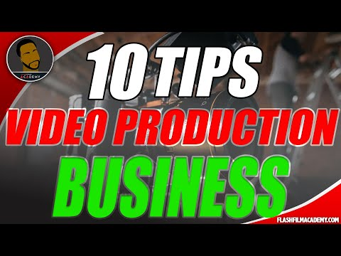 , title : 'How to start a production company: 10 REAL Things to know before starting in the VIDEO business