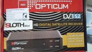 Opticum sloth mini review 720p HD